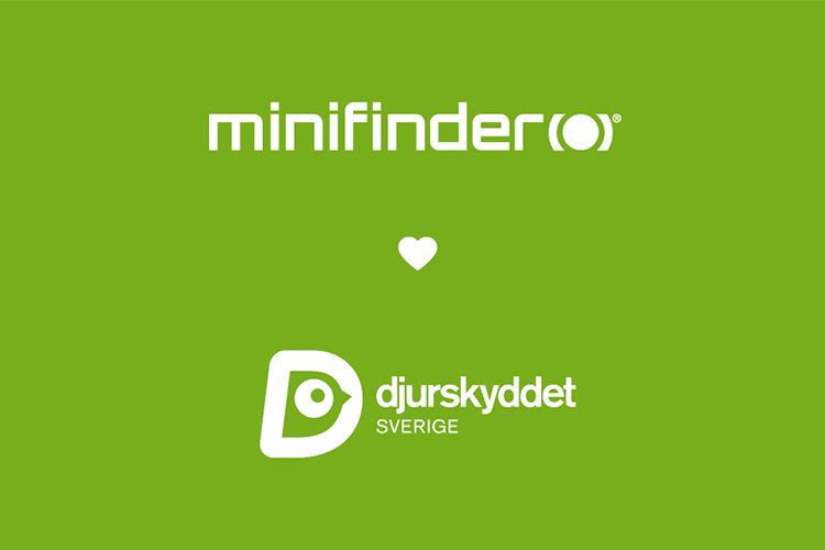 MiniFinder supports the Swedish Animal Welfare Organisation!