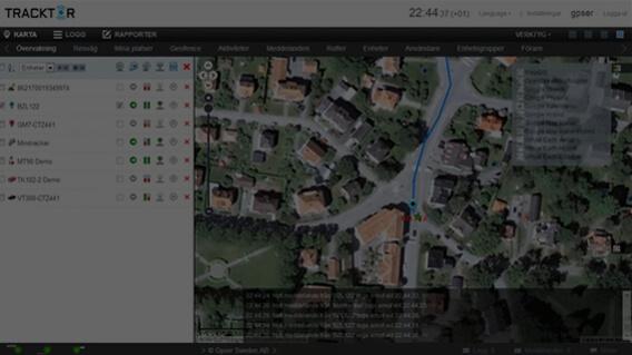MiniFinder Tracktor Webpage
