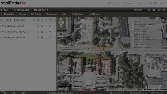MiniFinder GO Tracking System